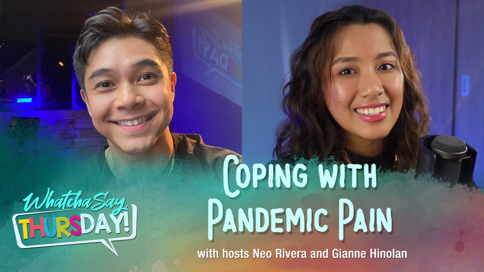 CBN Asia LIVE | Coping with Pandemic Pain | WhatchaSay, Thursday